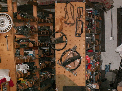Vrba's Parts huge collection of used parts
