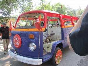 VW bus Tour Fort Collins