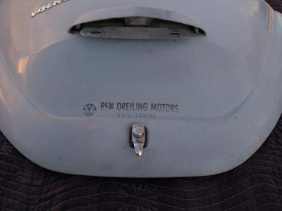 Decklid from Vrba's Parts Fort Collins